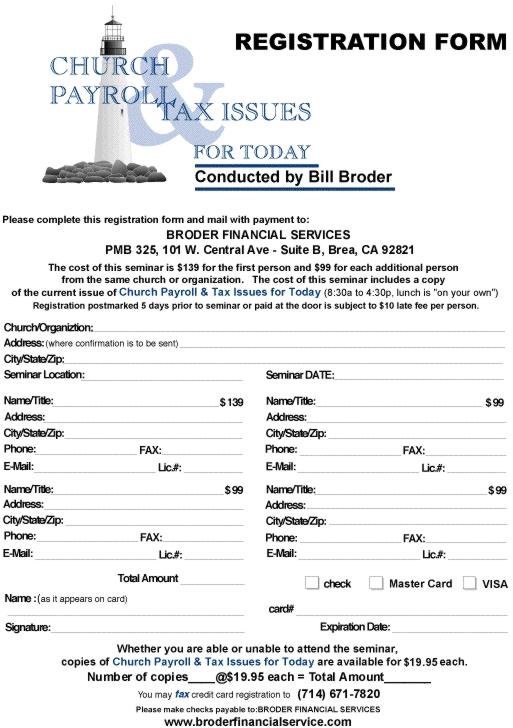 Register for the Seminars